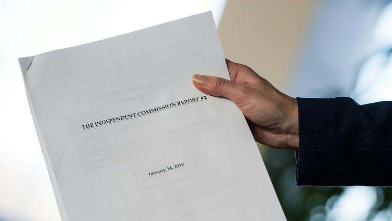 Вторая часть доклада Независимой комиссии ВАДА. Фото AFP
