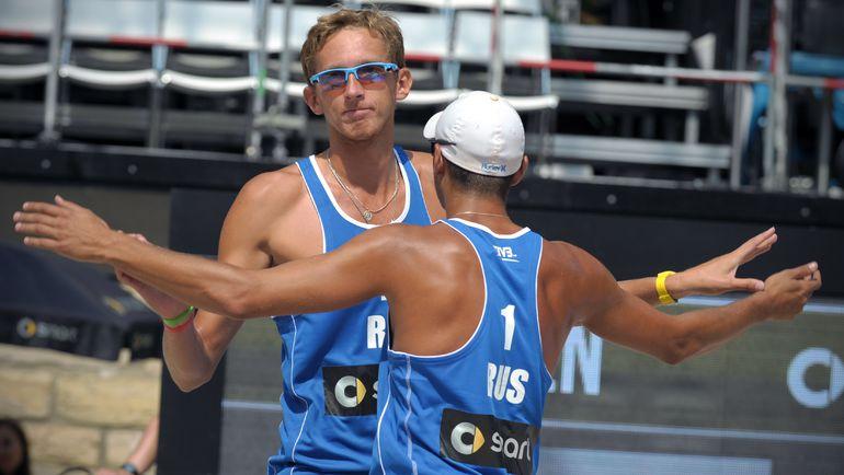 Вячеслав КРАСИЛЬНИКОВ (слева) и Константин СЕМЕНОВ. Фото AFP