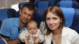 В семье Сергея СЕМАКА и его супруги Анны пополнение - девочка Таня (на следующем снимке).