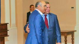 Курбан БЕРДЫЕВ и губернатор Ростовской области Василий ГОЛУБЕВ.