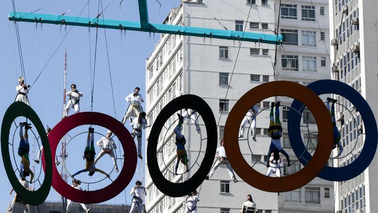 Рио готовится к Играм. Фото Reuters