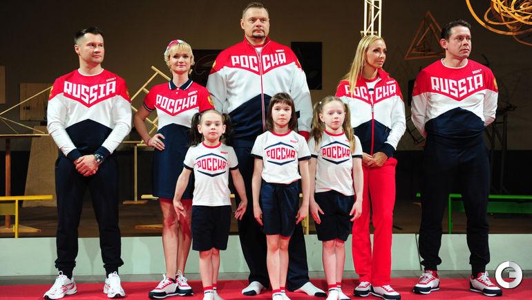 Презентация формы сборной России для Олимпиады в Рио.