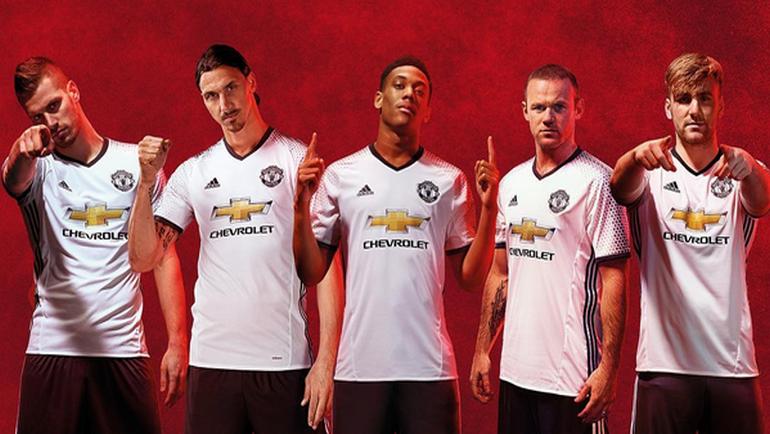 "Новая форма ""Манчестер Юнайтед""."