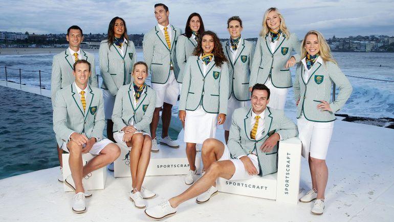 Форма олимпийской сборной Австралии на Играх в Рио-2016.