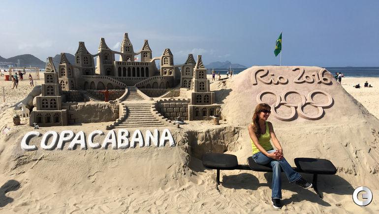 Сегодня. Рио-де-Жанейро. Пляж Копакабаны.