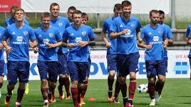 Май. Бад-Рагац. Игроки сборной России готовятся к Euro-2016.