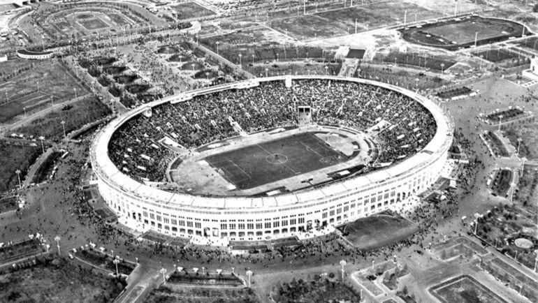 """Год основания стадиона """"Лужники"""" 1956 год."""