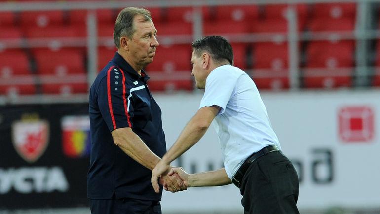 Сергей ПАВЛОВ (слева) и Дмитрий АЛЕНИЧЕВ. Фото Алексей ИВАНОВ, «СЭ»