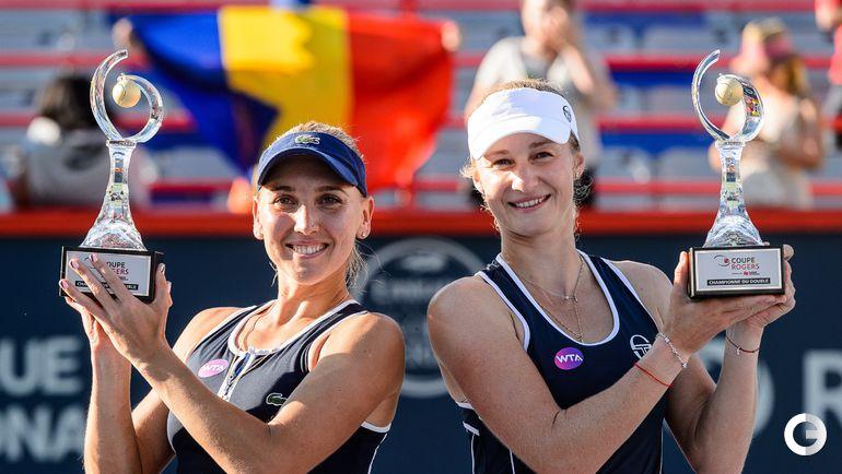 Сегодня. Монреаль. Турнир WTA Rogers Cup. Парный разряд. Финал  МАКАРОВА/ВЕСНИНА (Россия, 4) - Халеп/Никулеску (Румыния, WC) - 6:3, 7:6 (7:5).