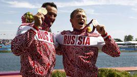 Олимпийские чемпионы Лондона Александр ДЬЯЧЕНКО (слева) и Юрий ПОСТРИГАЙ.