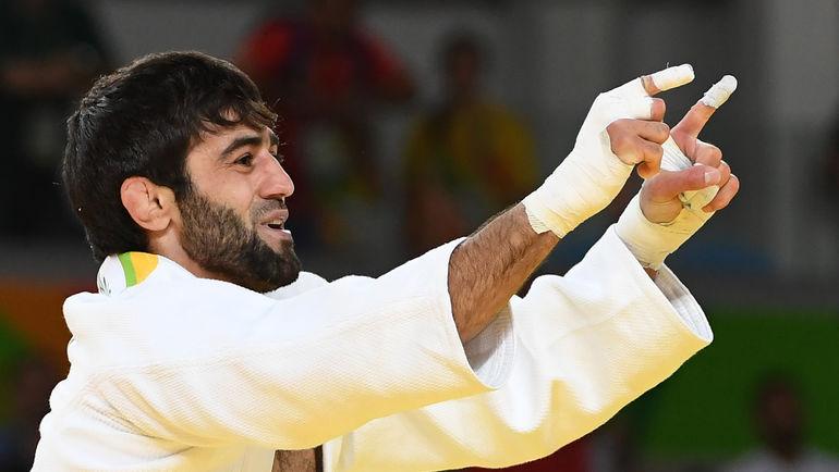 Беслан МУДРАНОВ завоевал первое золото сборной России на Играх в Рио. Фото AFP