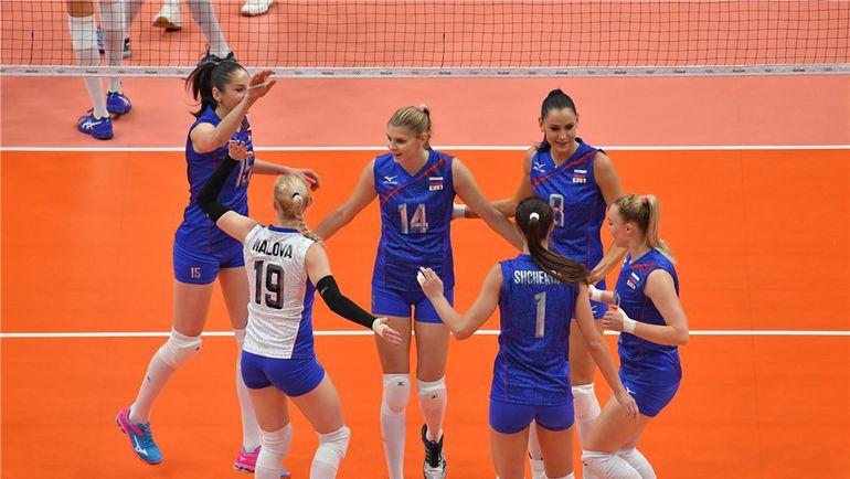 Сегодня. Рио-де-Жанейро. Россия – Аргентина – 3:0. Латиноамериканки не смогли оказать сопротивление нашей команде. Фото FIVB