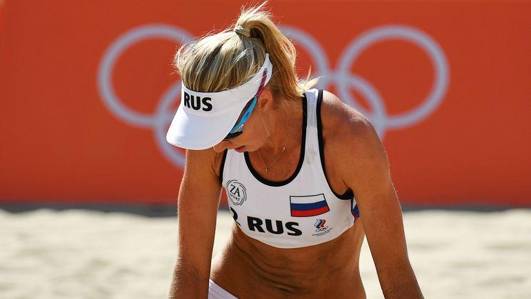Эмоции Евгении УКОЛОВОЙ. Фото AFP