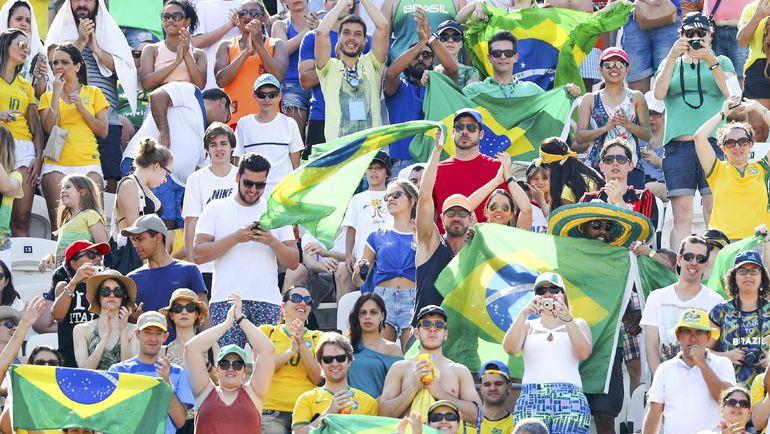 Бразильская публика. Фото REUTERS