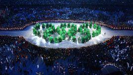 """В ночь с 5 на 6 августа в Рио-де-Жанейро на знаменитом футбольном стадионе """"Маракана"""" прошло открытие Олимпийских игр."""