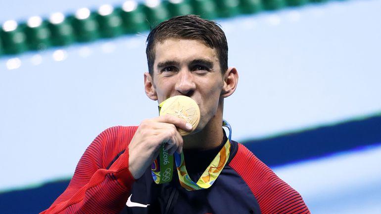 Сегодня. Рио-де-Жанейро. Майкл ФЕЛПС - 19-кратный олимпийский чемпион! Фото Reuters