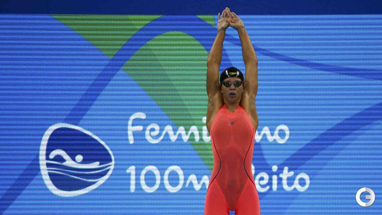 Воскресенье. Рио-де-Жанейро. Плавание. Юлия ЕФИМОВА.