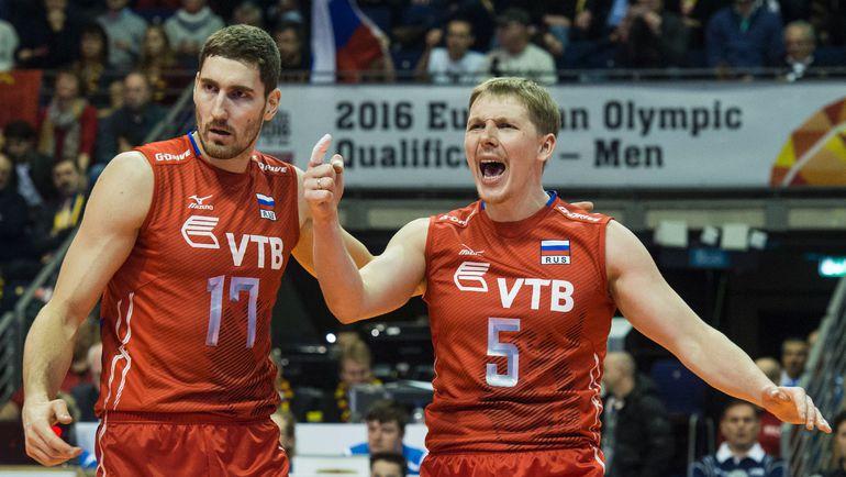 Максим МИХАЙЛОВ и Сергей ГРАНКИН. Фото AFP