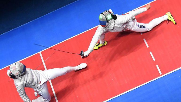 Сегодня. Рио-де-Жанейро. Яна ЕГОРЯН (слева) против Софьи ВЕЛИКОЙ. Фото AFP