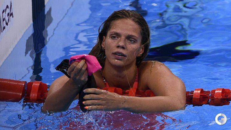Сегодня. Рио-де-Жанейро. Женщины. 100 м брасс. Финал. Юлия ЕФИМОВА. Фото AFP