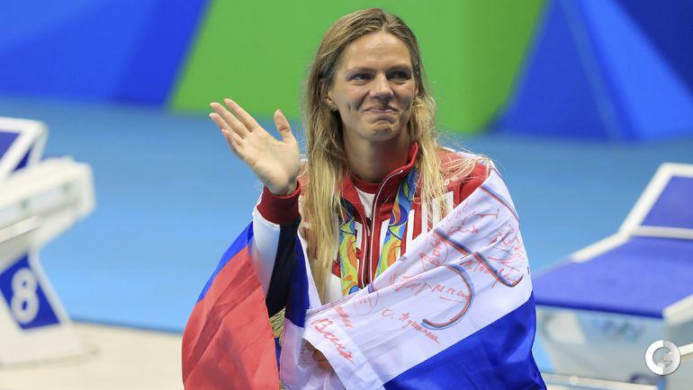 Сегодня. Рио-де-Жанейро. Плавание. Женщины. 100 м брасс. Финал. Юлия ЕФИМОВА.