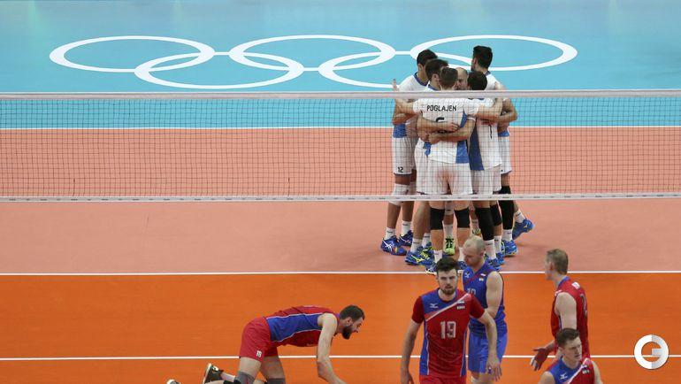 Сегодня. Рио-де-Жанейро. Мужчины. Группа B. РОССИЯ – Аргентина – 1:3.