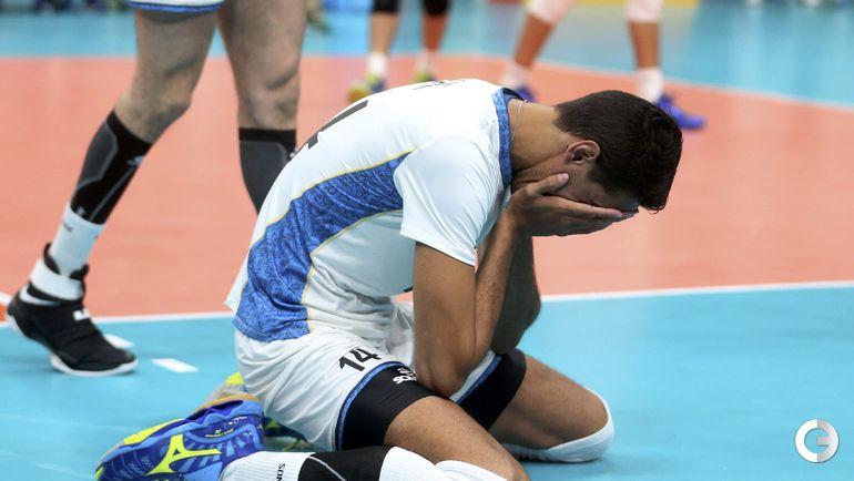 Сегодня. Рио-де-Жанейро. Мужчины. Группа B. РОССИЯ – Аргентина – 1:3. Фото Reuters