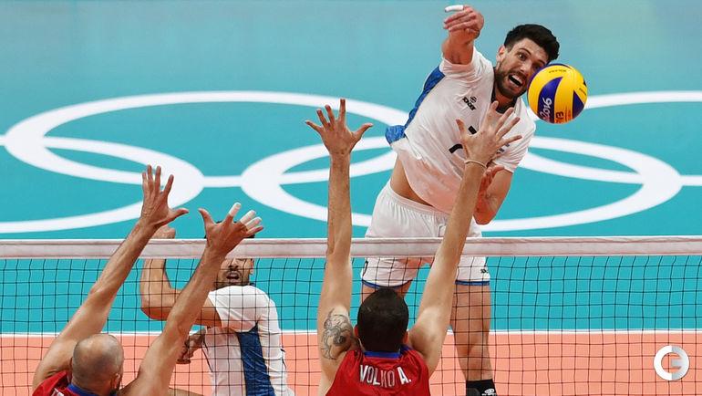 Сегодня. Рио-де-Жанейро. Мужчины. Группа B. РОССИЯ – Аргентина – 1:3. Фото AFP