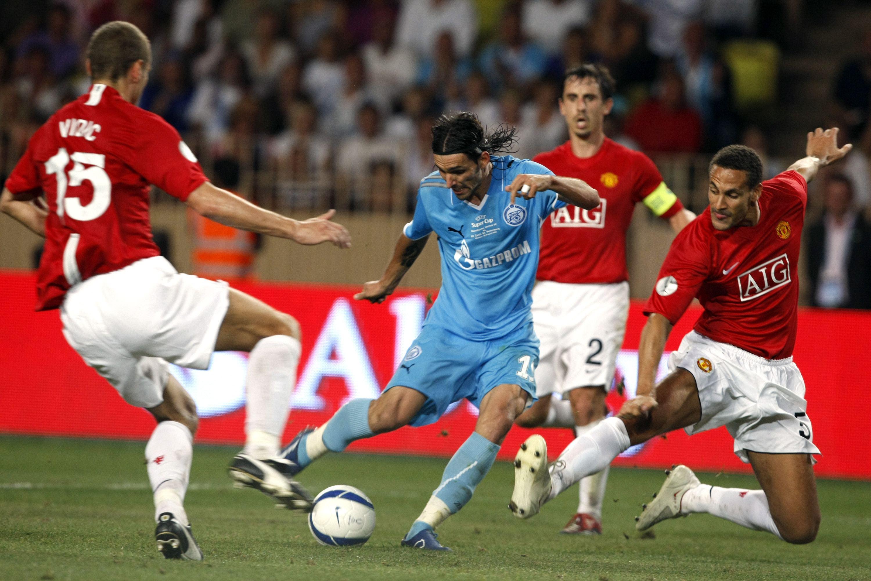 Футбол зенит манчестер юнайтед смотреть онлайн 2008
