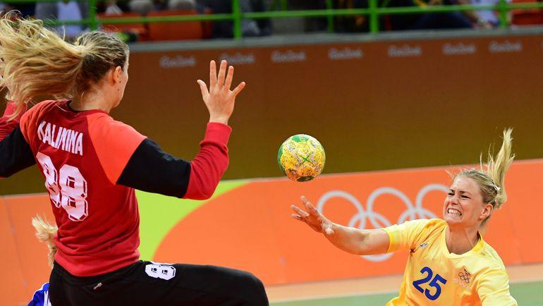 В игре Виктория КАЛИНИНА. Фото AFP