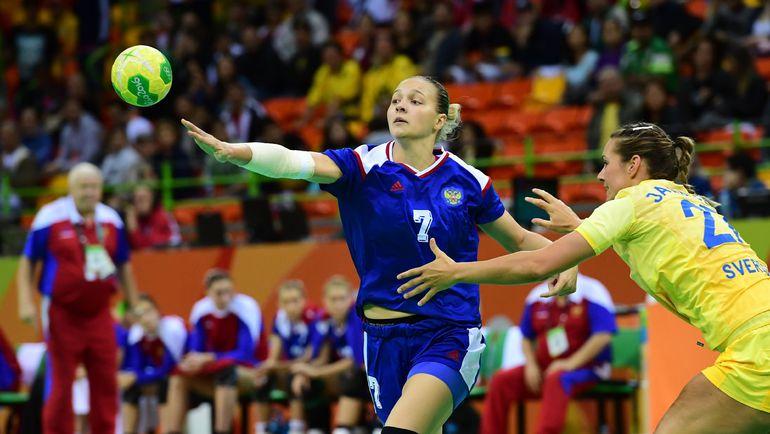 В атаке Дарья ДМИТРИЕВА. Фото AFP