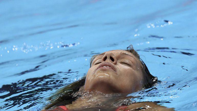 Вторник. Рио-де-Жанейро. Юлия ЕФИМОВА после своего полуфинального заплыва. Фото Reuters