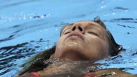 Вторник. Рио-де-Жанейро. Юлия ЕФИМОВА после своего полуфинального заплыва.