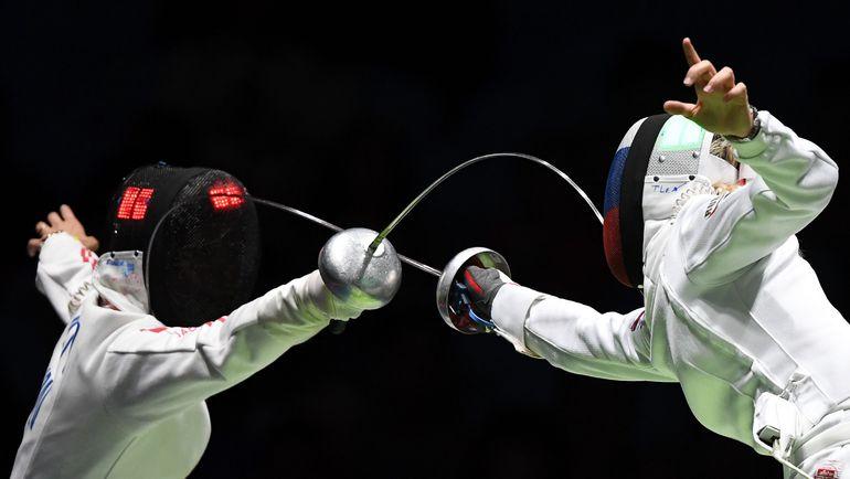 Завоюет ли Татьяна ЛОГУНОВА (справа) третье олимпийское золото? Фото AFP