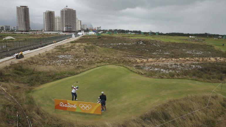 Арена Campo Olímpico de Golfe в Рио-де-Жанейро. Фото Reuters