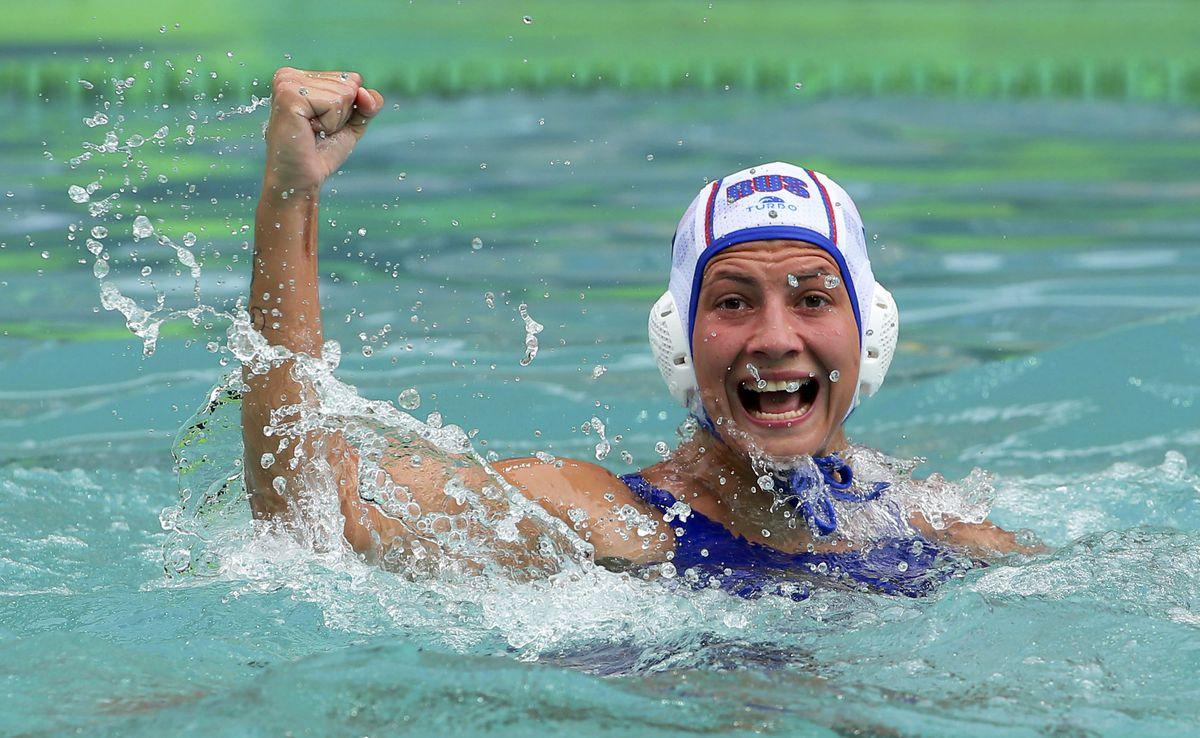 На олимпиаде слетел купальник фраза просто