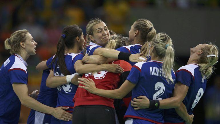 Вчера. Рио-де-Жанейро. Россия - в плей-офф. Фото REUTERS