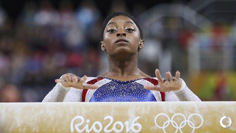 Четверг. Рио-де-Жанейро. Спортивная гимнастика. Симона БАЙЛЗ.