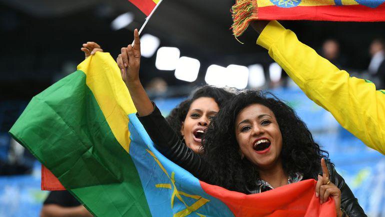 Пятница. Рио-де-Жанейро. Болельщицы сборной Эфиопии.