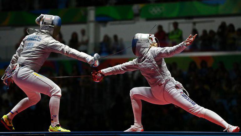 Сегодня. Рио-де-Жанейро. Ольга ХАРЛАН и Юрия ГАВРИЛОВА. Фото AFP