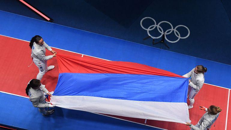 Сегодня. Рио-де-Жанейро. Россиянки - чемпионки! Фото AFP