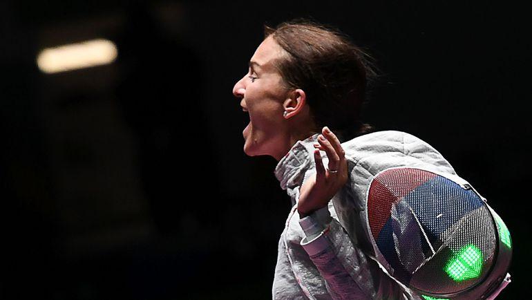 Сегодня. Рио-де-Жанейро. Секунду назад Софье ВЕЛИКОЙ покорилась золотая медаль Рио! Фото AFP