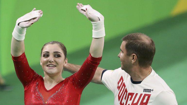 Воскресенье. Рио-де-Жанейро. Алия МУСТАФИНА - двукратная олимпийская чемпионка! Фото Reuters