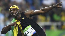 Сегодня. Рио-де-Жанейро. Усэйн БОЛТ снова Олимпийский чемпион!