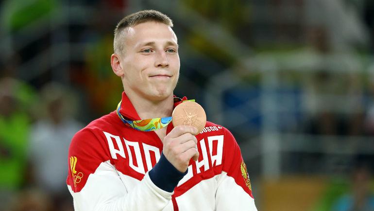 Денис АБЛЯЗИН и бронзовая медаль Олимпиады-2016. Фото REUTERS