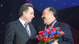 Виталий МУТКО и Валерий ГАЗЗАЕВ.