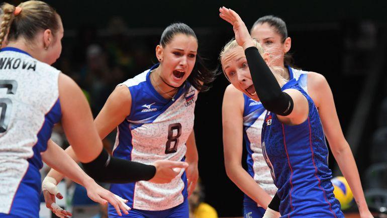 Россиянки проиграли в трех сетах, а встрепенуться сумели лишь в последнем. К сожалению, ненадолго. Фото AFP