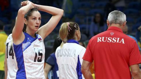 Сербия уничтожила Россию.  Волейболистки покидают Олимпиаду