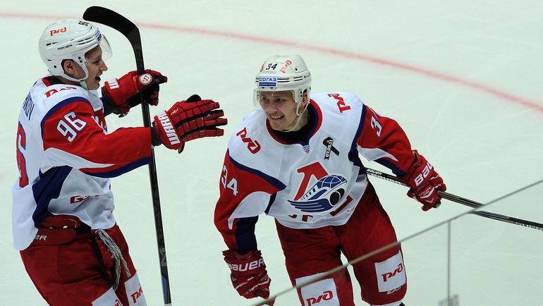 """Егор КОРШКОВ (слева) и Артем ИЛЬНЕНКО. Фото Алексей ИВАНОВ, """"СЭ"""""""