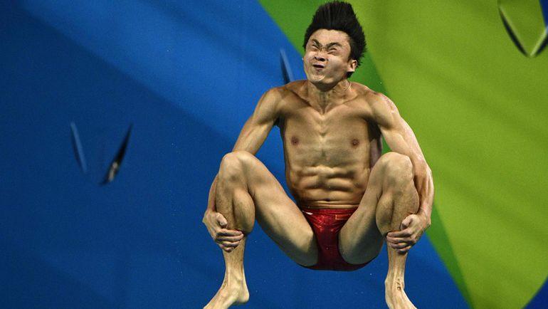 Вторник. Рио-де-Жанейро. Прыжки в воду. Цао ЮАНЬ.